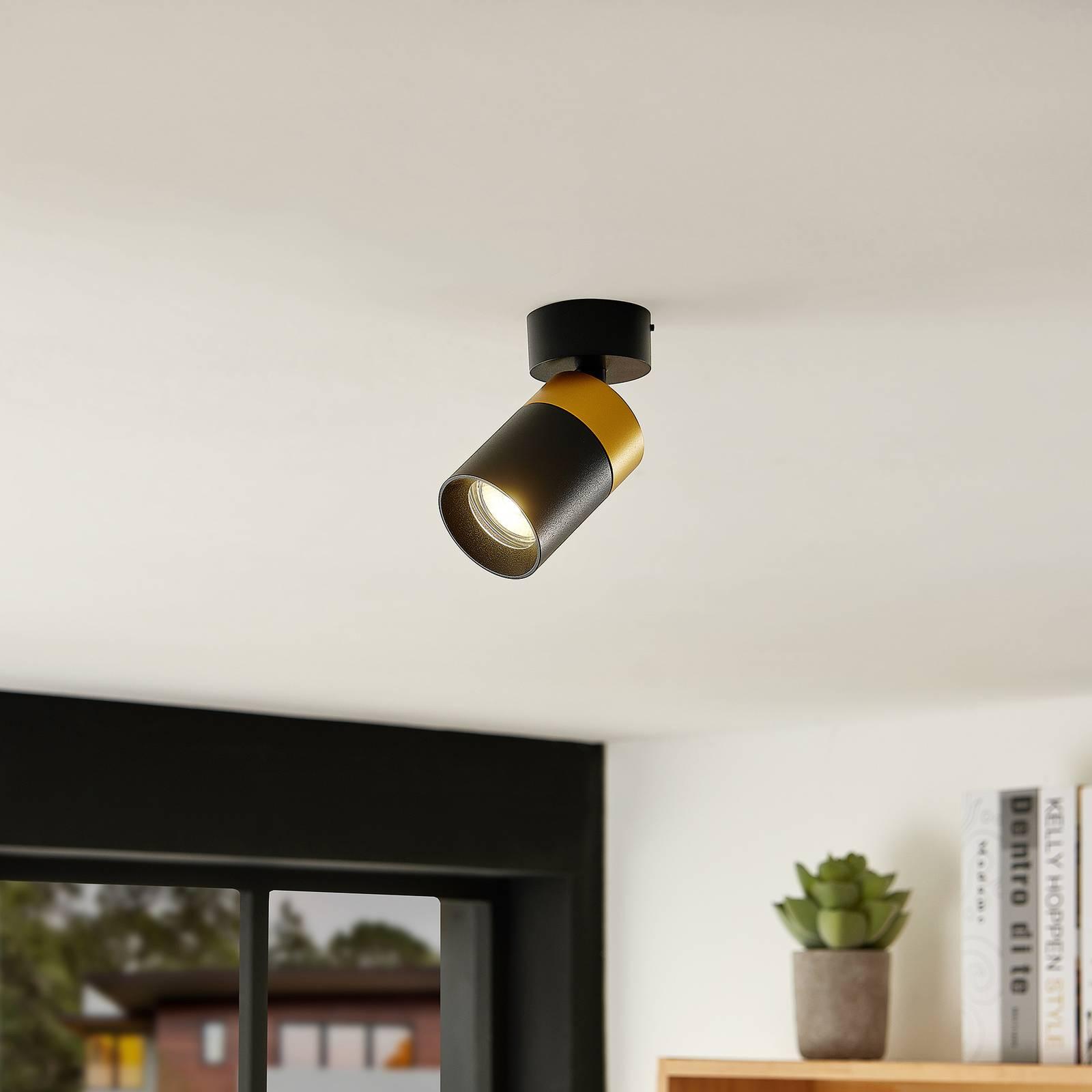 Arcchio Nikora -spotti, 1-lamppuinen pyöreä