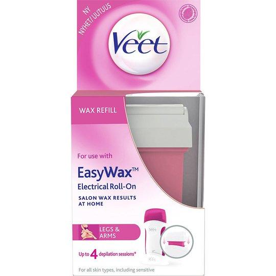 Veet EasyWax Electrical Roll-On Refill Legs & Body, Veet Karvanpoisto