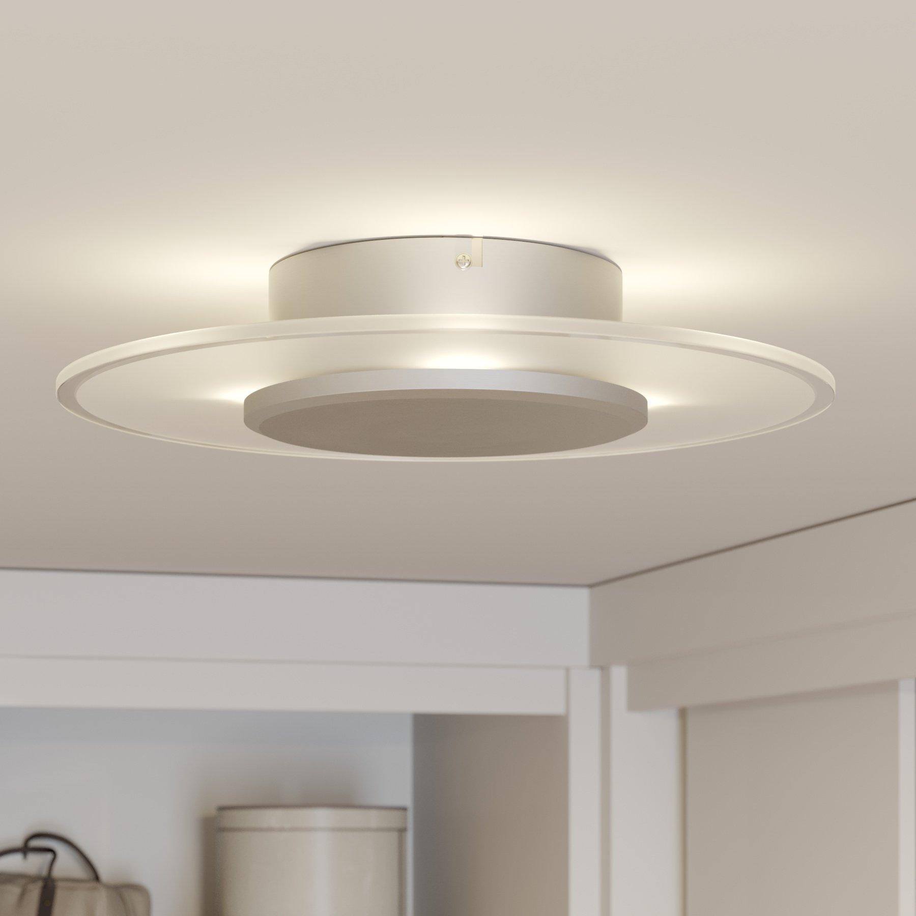 Velformet LED-taklampe Dora, dimbar