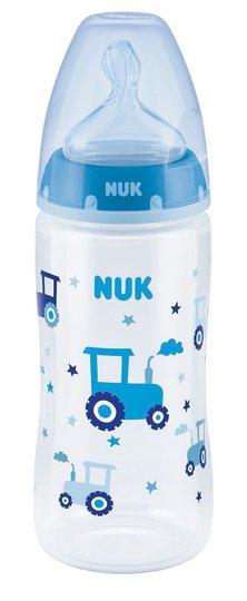 NUK First Choice+ 300 ml Tåteflaske, Blå