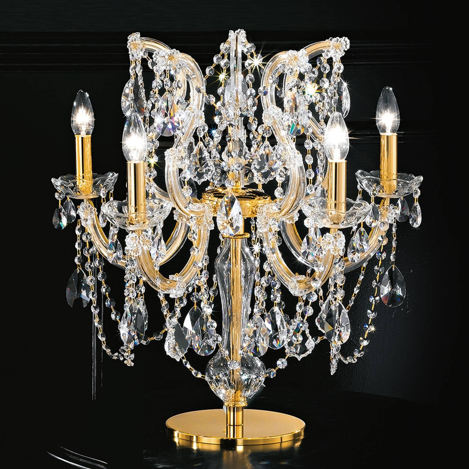 Annino bordlampe med 5 lyskilder