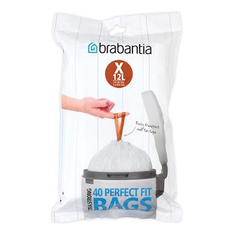 PerfectFit Avfallspåse X 12L(40 påsar per förpackning)