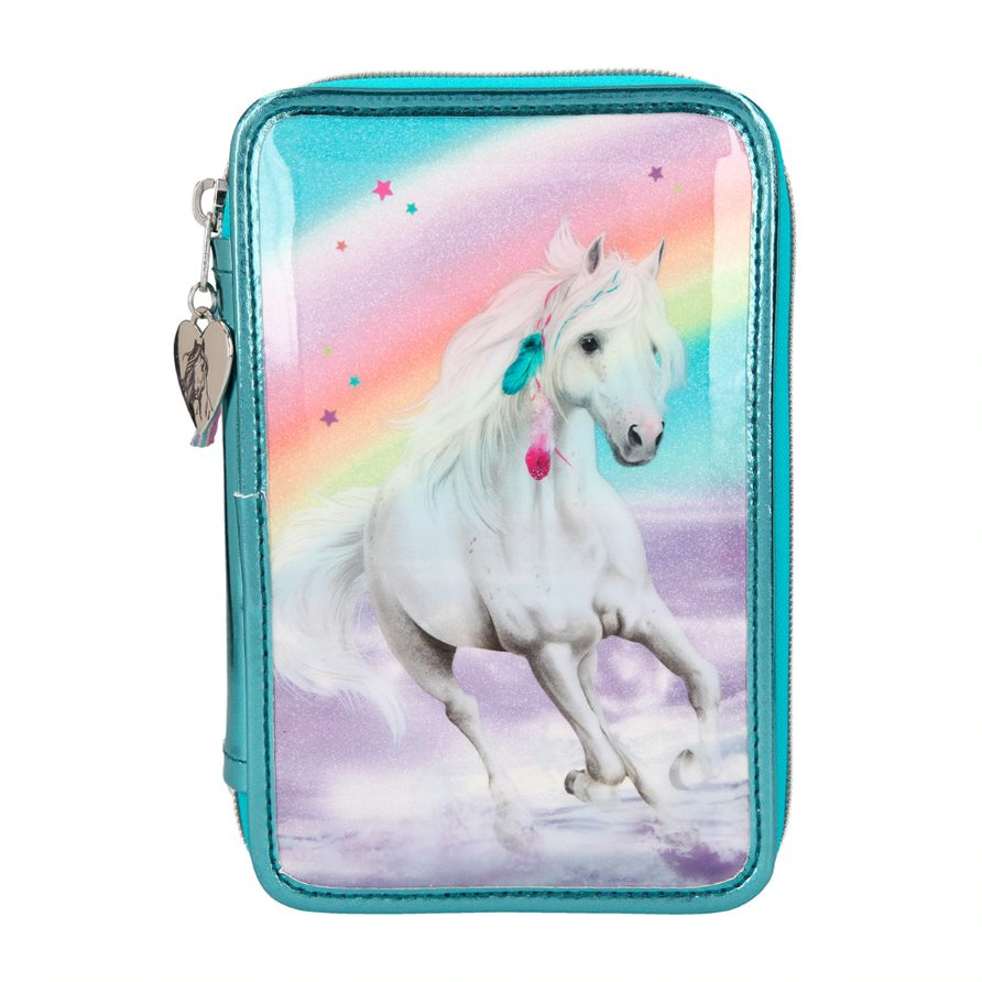 Miss Melody - Triple Pencil Case - Rainbow (0411055)