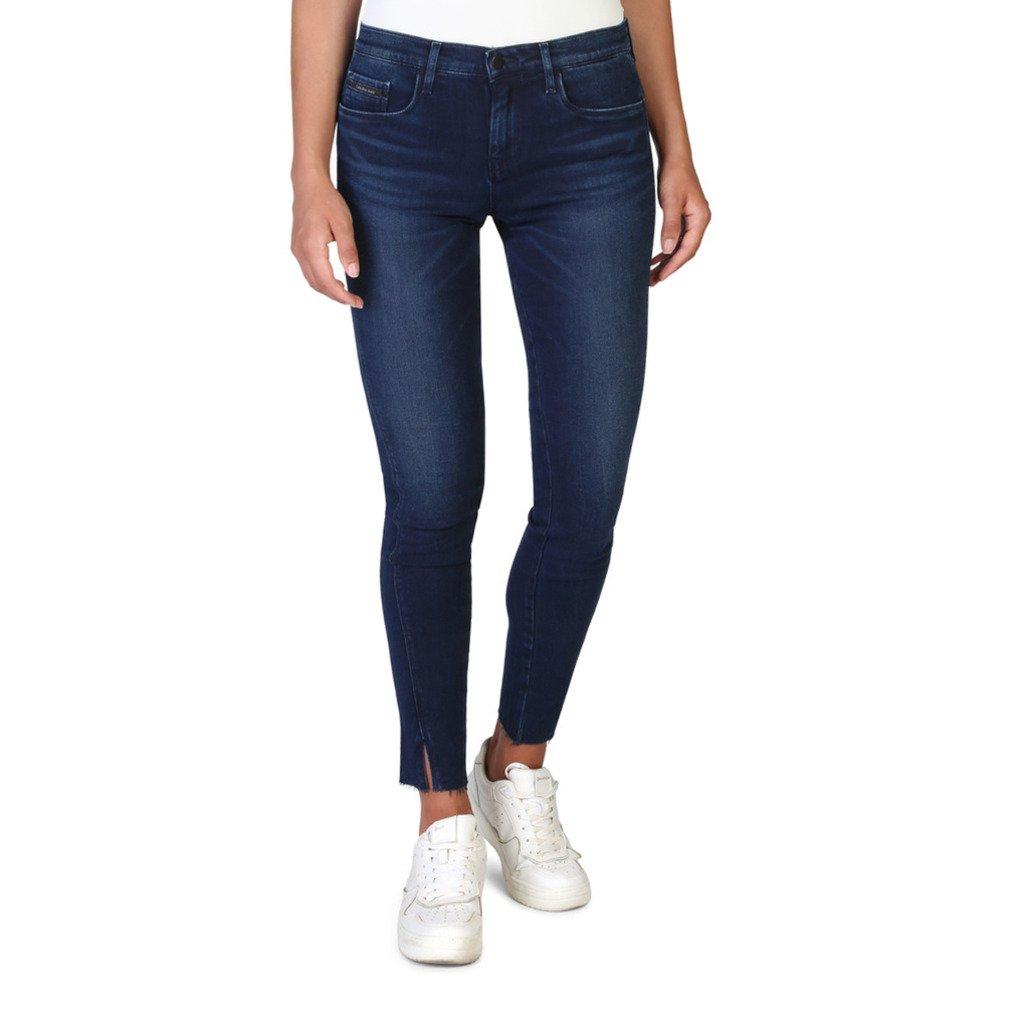 Calvin Klein Women's Jeans Blue J20J206211 - blue 25