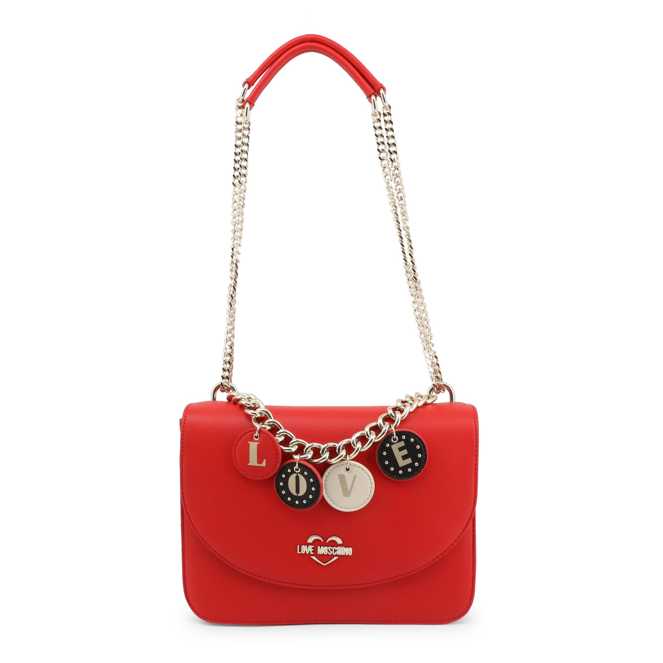 Love Moschino Women's Shoulder Bag Various Colours JC4226PP0BKD - red NOSIZE
