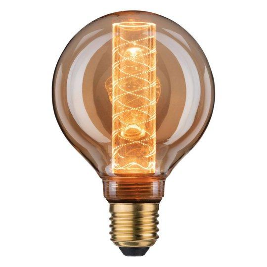 LED-globe-lamppu E27 4W G95 Inner Glow spiraali
