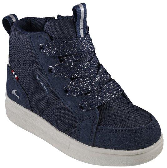 Viking Smile Mid WP Sneaker, Navy/Cream, 26