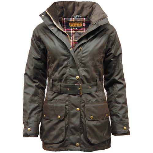Game Technical Apparel Women's Jacket Various Colours Cantrell Wax - Brown XS