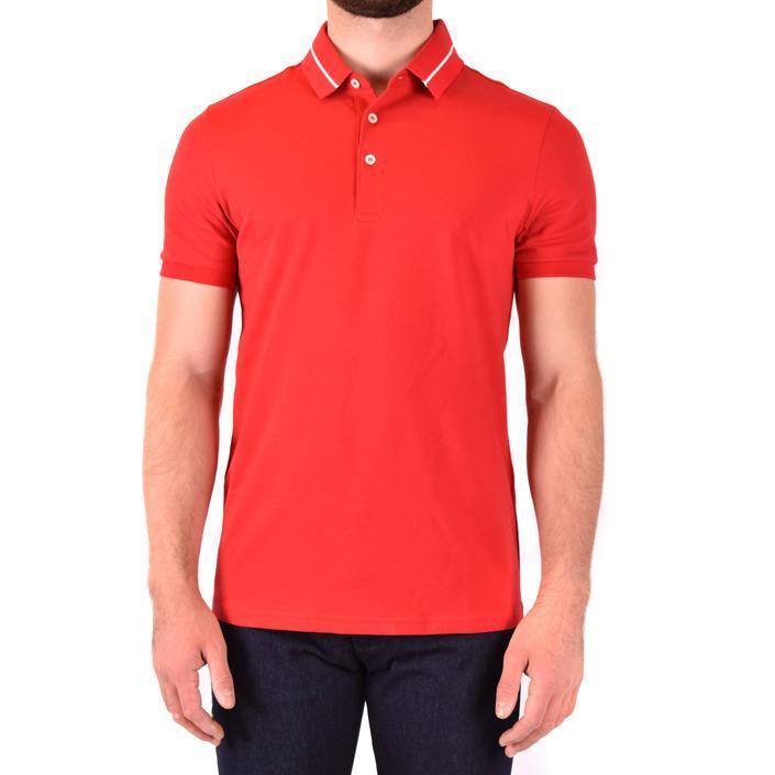 Emporio Armani Men's Polo Shirt Red 181911 - red XL