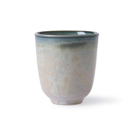 Home Chef Ceramics Kopp grey/Green