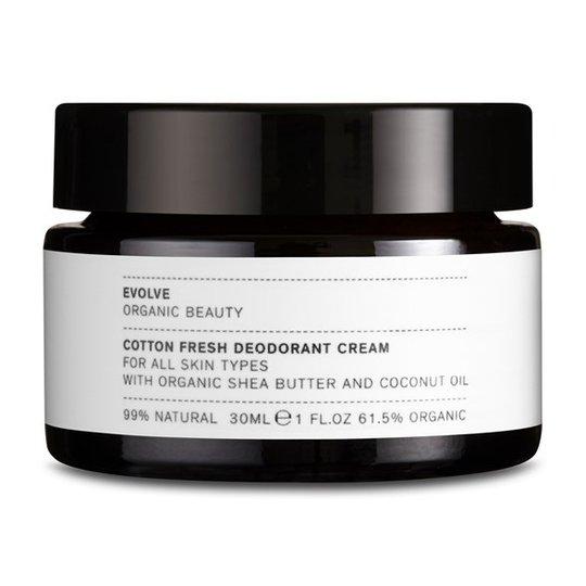 Evolve Cotton Fresh Deodorant Cream, 30 ml