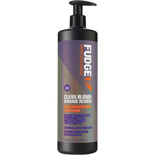 Fudge Clean Blonde Damage Rewind Violet-Toning Shampoo, 1000 ml Fudge Erikoistuotteet hiuksille