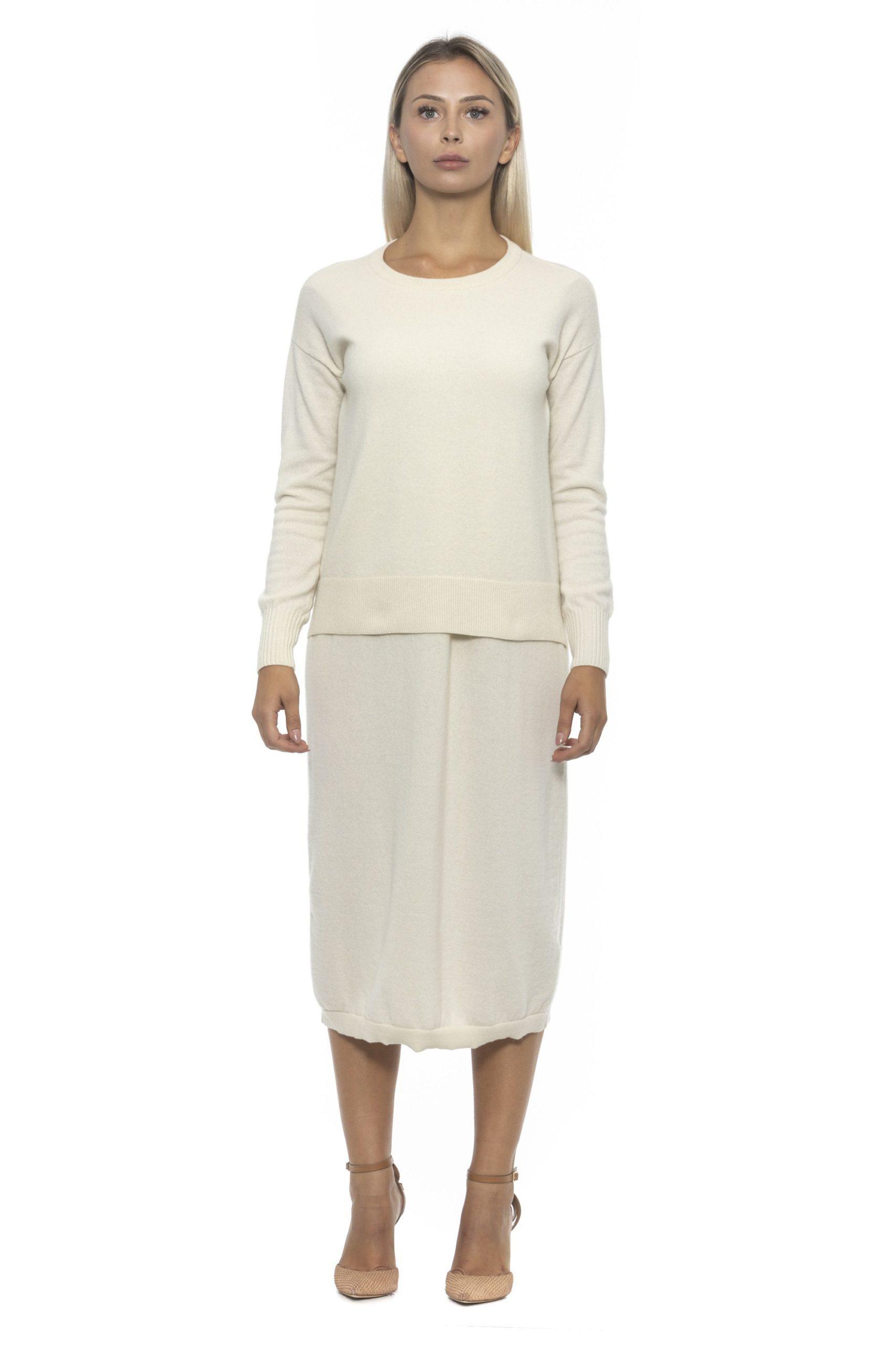 Alpha Studio Women's Panna Dress Beige AL1192199 - IT42   S