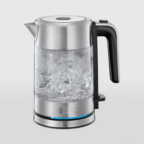 Russell Hobbs Compact Home Kettle - Glass Vattenkokare Glas