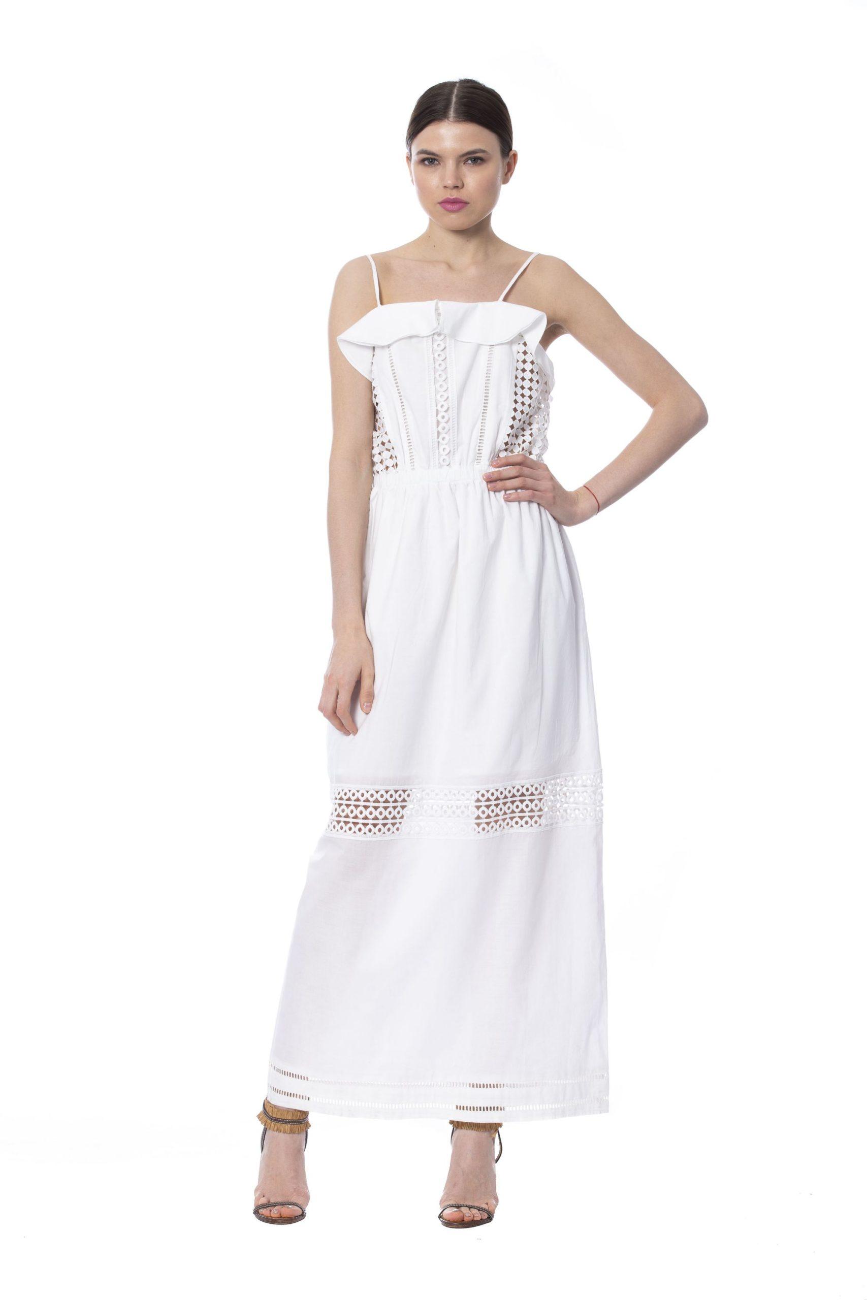 Silvian Heach Women's Dress White SI995364 - XXS