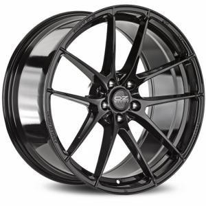 OZ Leggera HLT Gloss Black 8x18 5/112 ET35 B75
