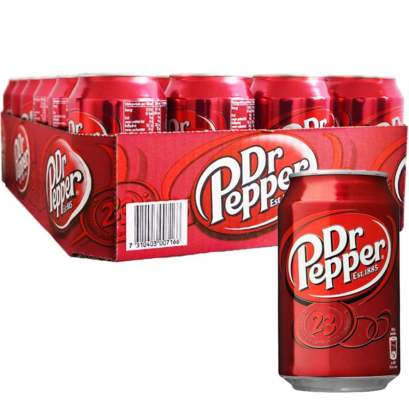 Dr Pepper 24-pack - 25% rabatt