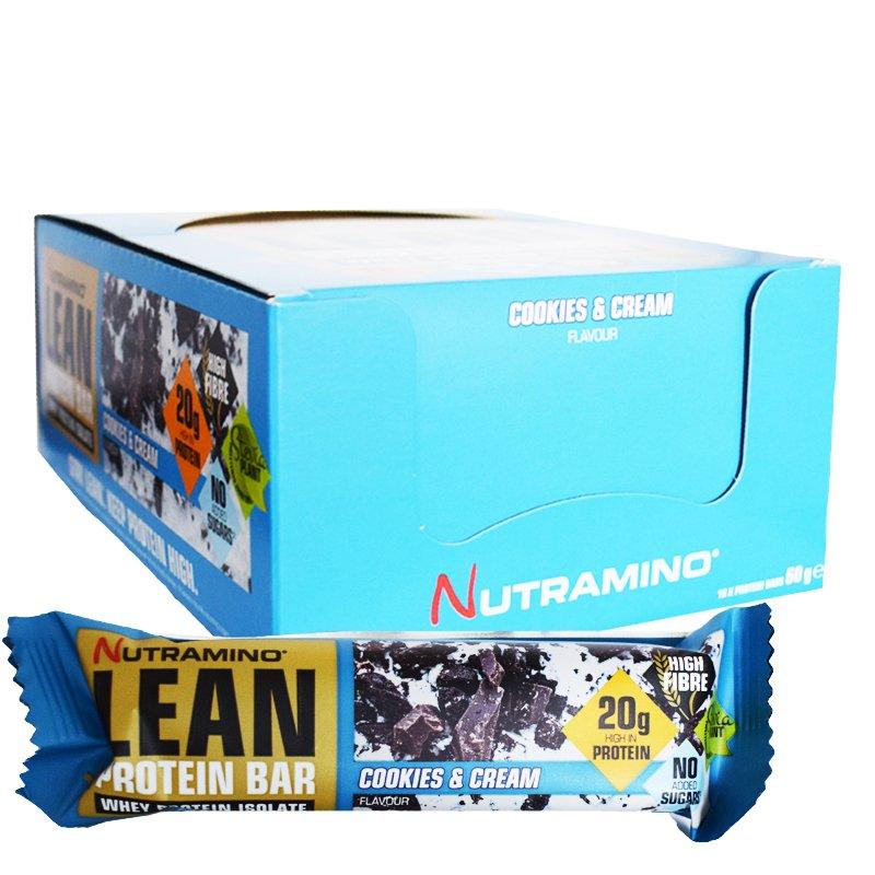 """Laatikollinen proteiinipatukoita """"Cookies & Cream"""" 16 x 60 g - 73% alennus"""