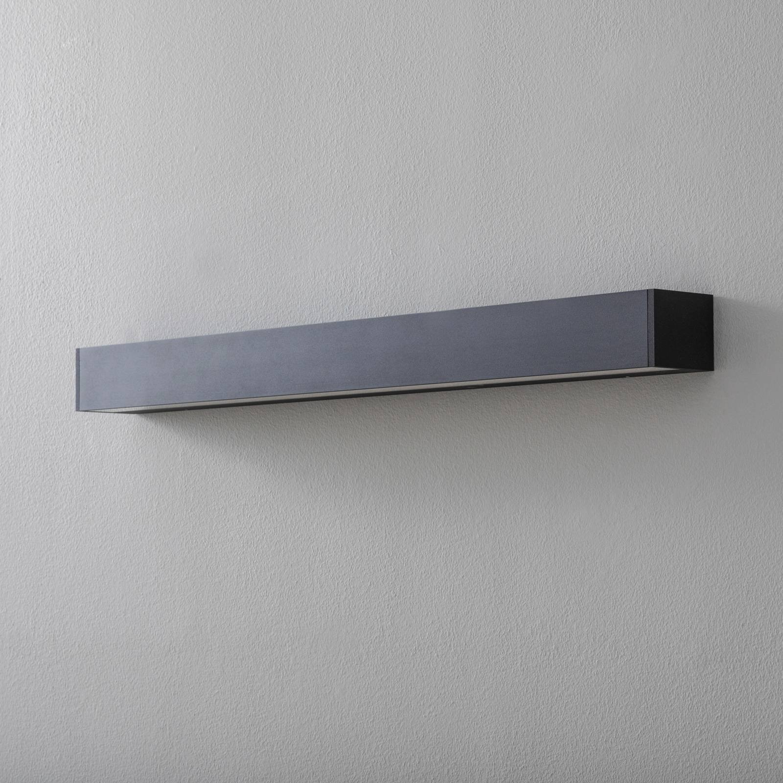 BEGA 50801 LED-vegglampe 930 svart 92 cm 5640 lm