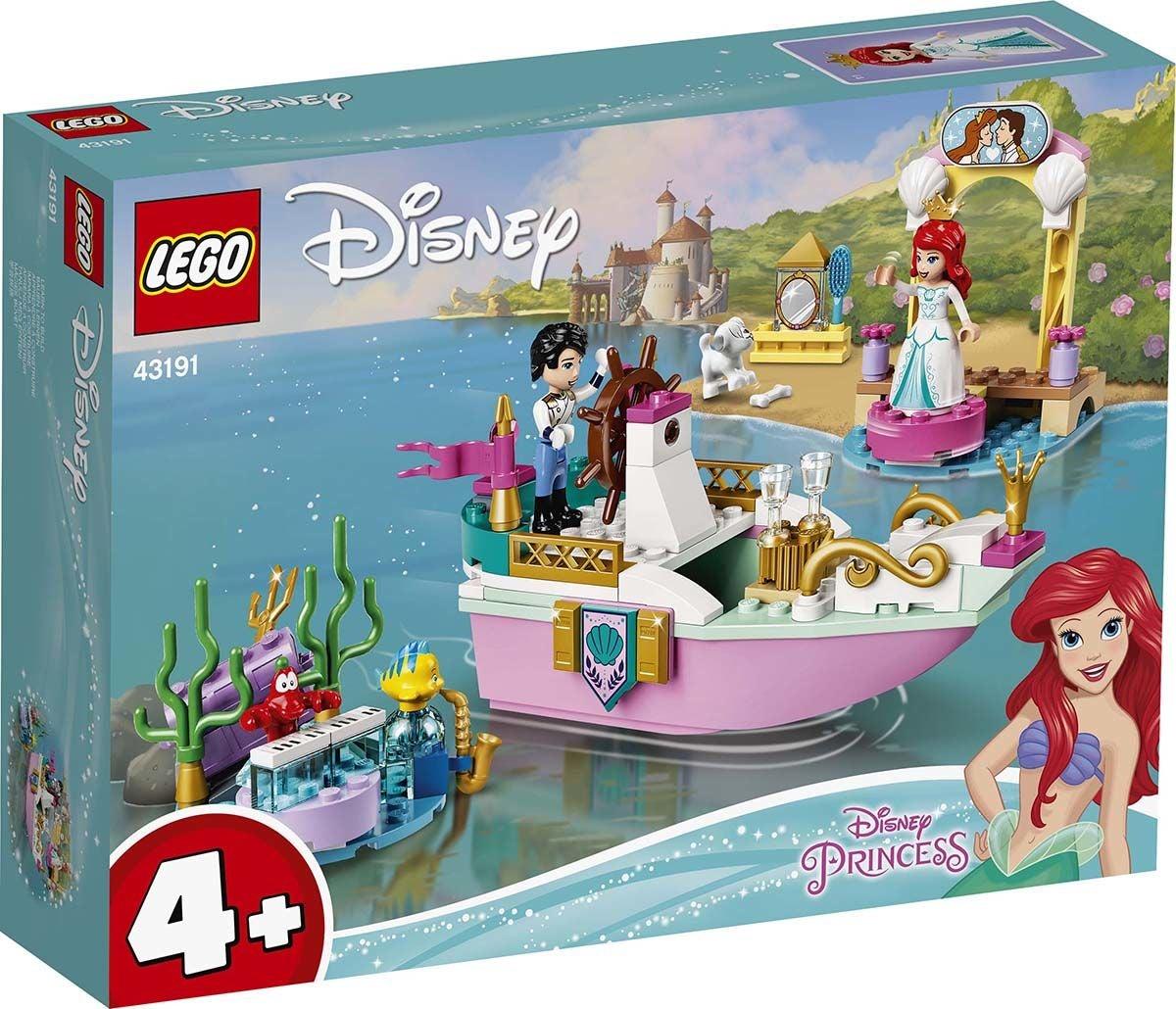 LEGO Disney Prinsessat 43191 Arielin Juhlavene