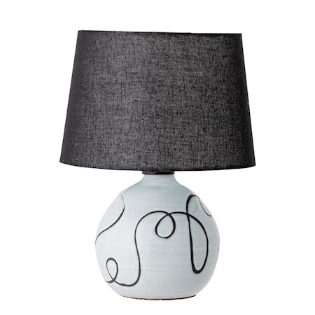 Bordlampe Hvit Terracotta