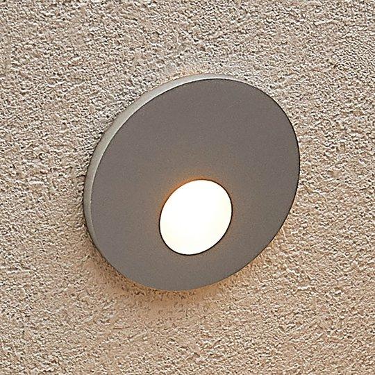 Arcchio Vexi -LED-uppovalaisin, pyöreä, hopea