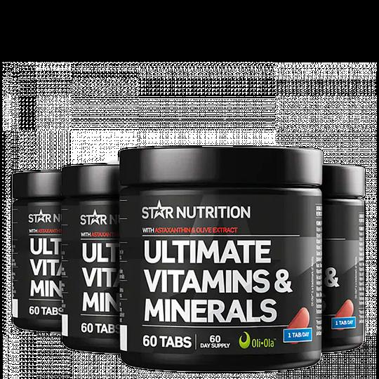 Ultimate Vitamins & Minerals BIG BUY, 240 tabletter