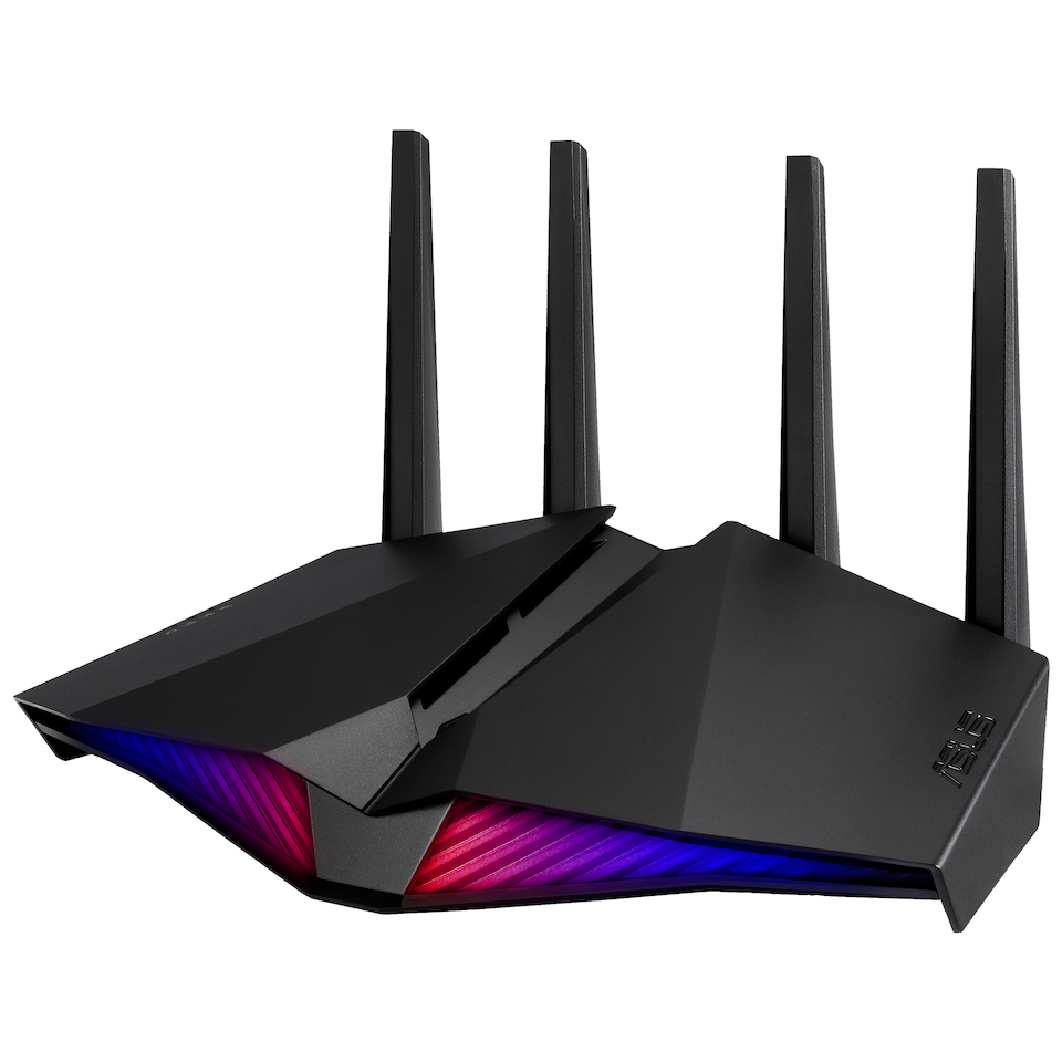 Asus - RT-AX82U Dual Band WiFi 6 Router