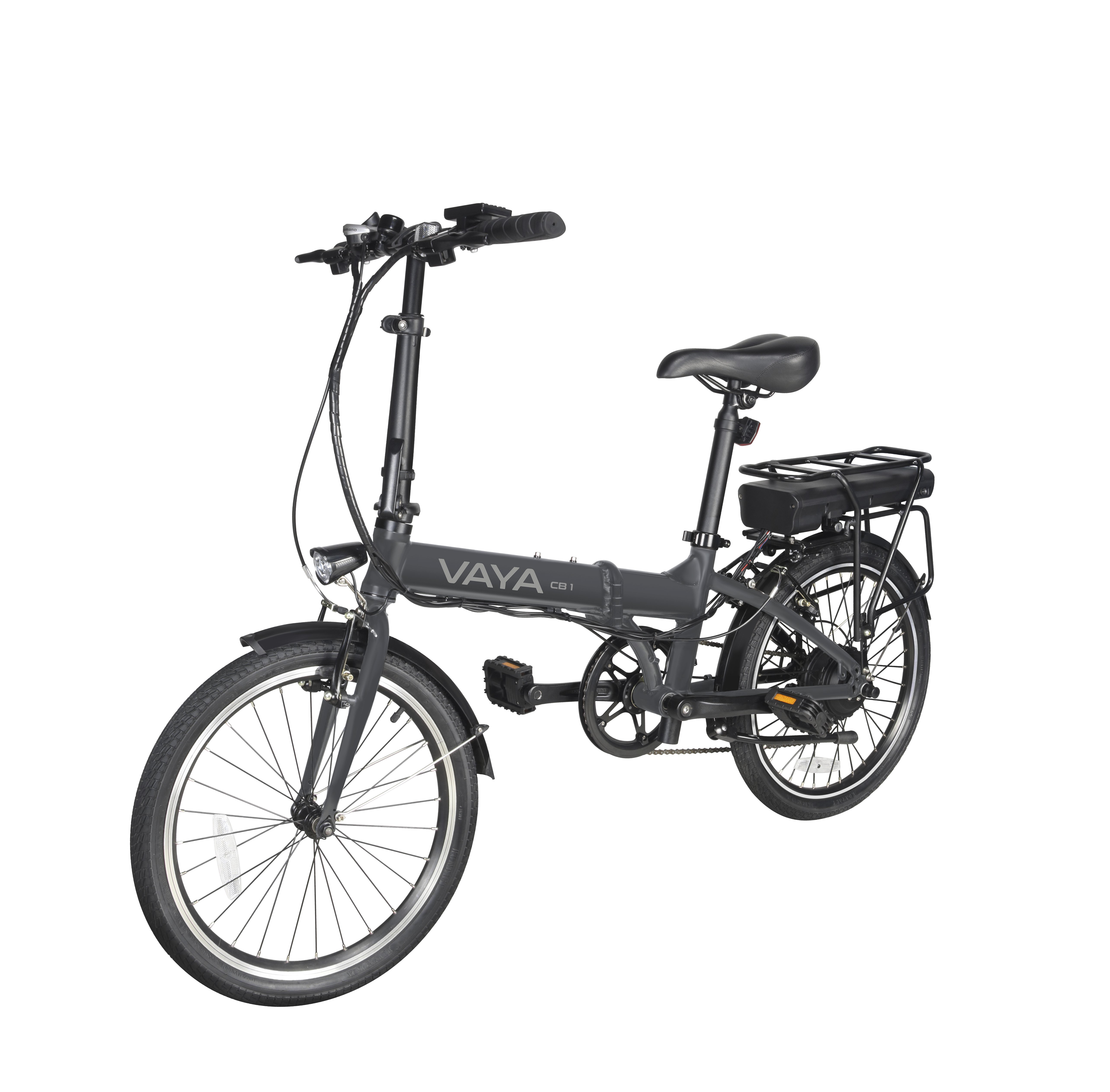 Vaya - CB-1 Electric City Bike - Dark Grey (1641DG)