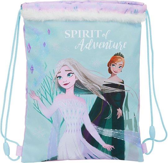 Disney Frozen II Spirit of Adventure Gymbag 3L, Purple