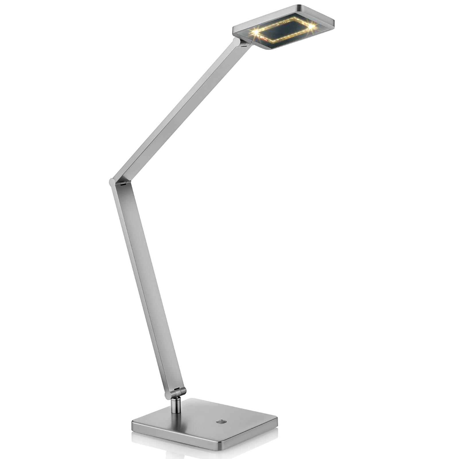 LED-pöytälamppu Space kosketushimmentimellä