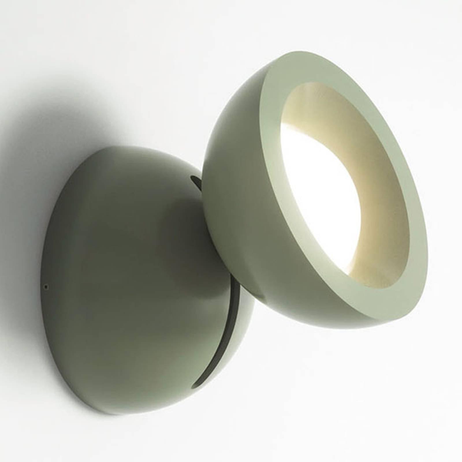Axolight DoDot LED-vegglampe, grønn 15°