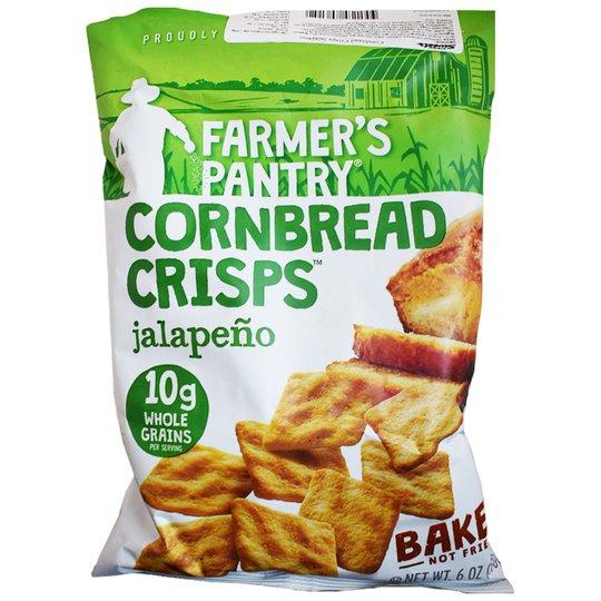 "Kex ""Cornbread Crisps Jalapeno"" 170g - 49% rabatt"