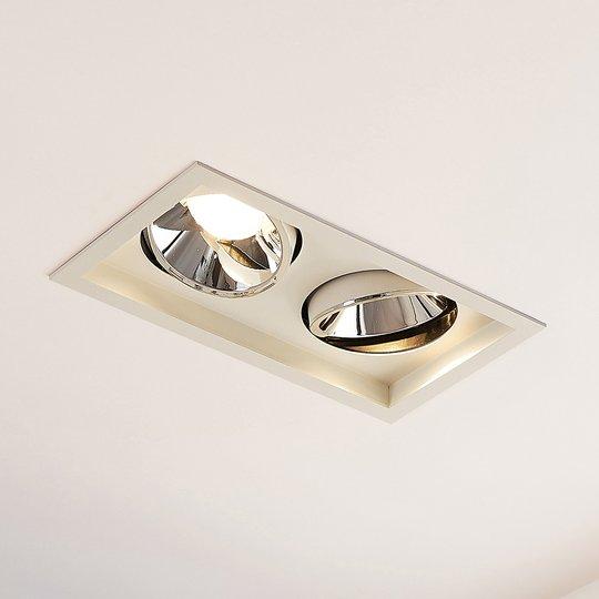 Arcchio Frode LED-uppovalo, 2 lamppuinen, 3 000 K