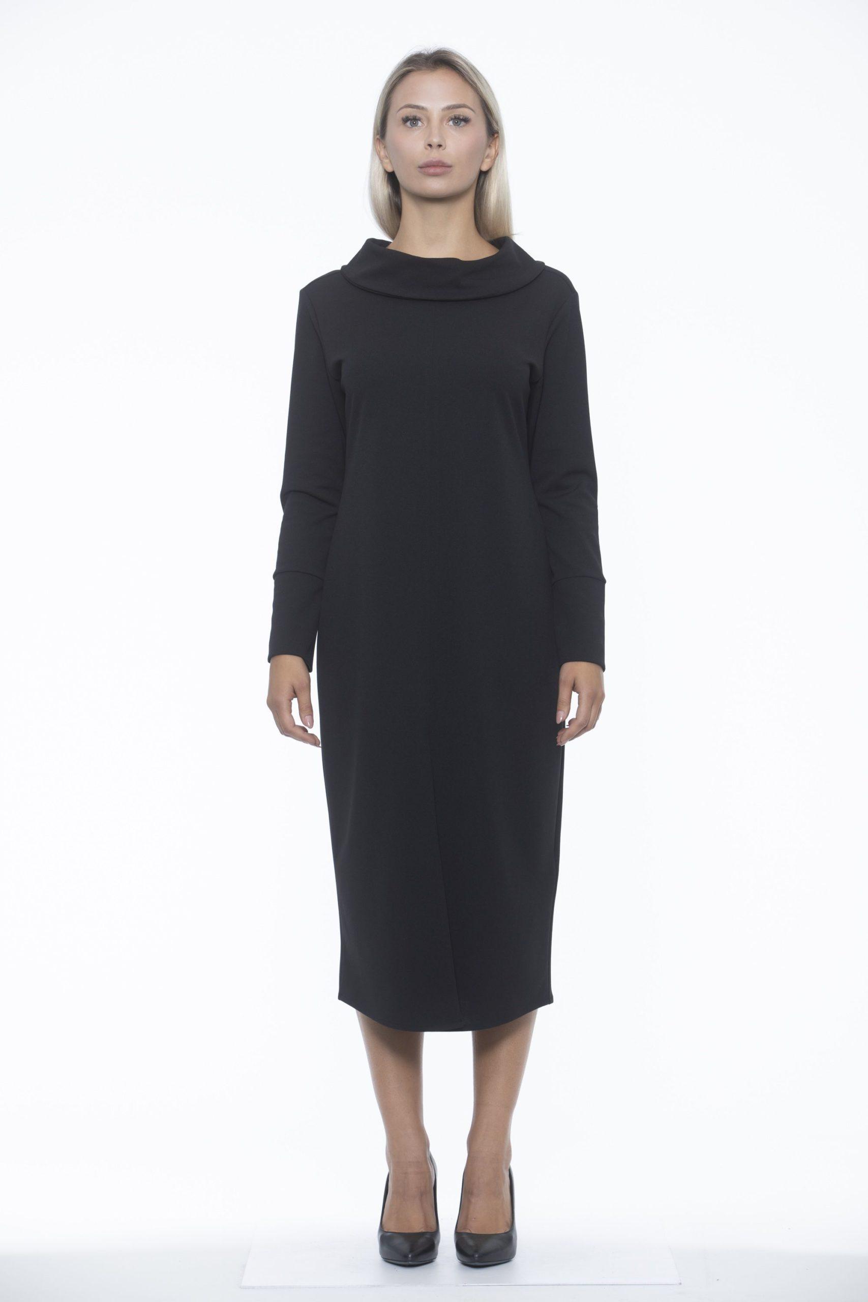 Alpha Studio Women's Nero Dress Black AL1192196 - IT40 | XS