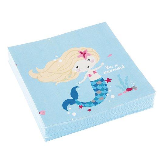 Servetter Be a Mermaid - 20-pack