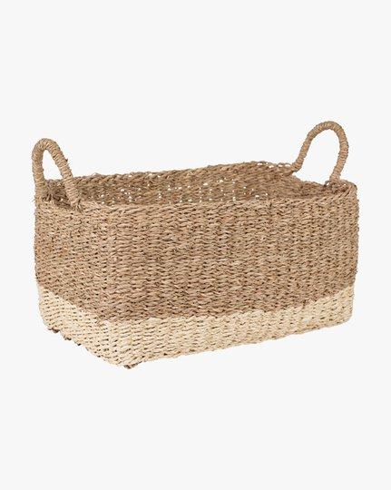 Artiste 24x40x20 Cm Basket, Luonnonvalkoinen, 24x40cm