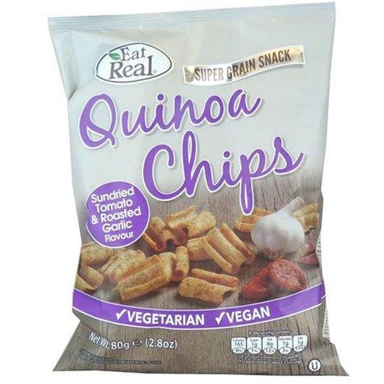 Quinoa Chips Tomato & Garlic - 62% alennus