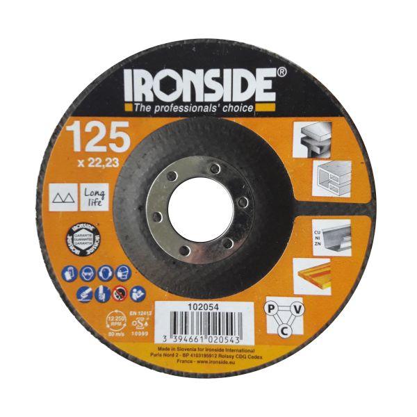 Ironside 102054 Lamellrondell til polering Grov