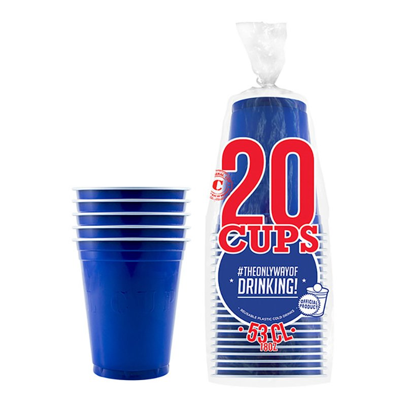 Partycups Marinblå - 20-pack