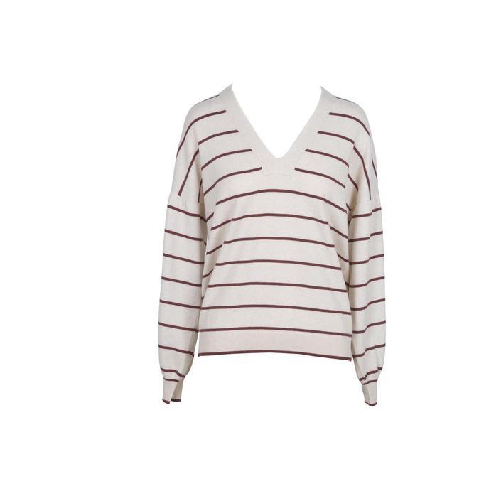 Brunello Cucinelli Women's Sweater Beige 218842 - beige M