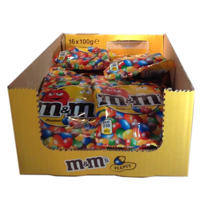 Hel låda M&M peanut - 74% rabatt