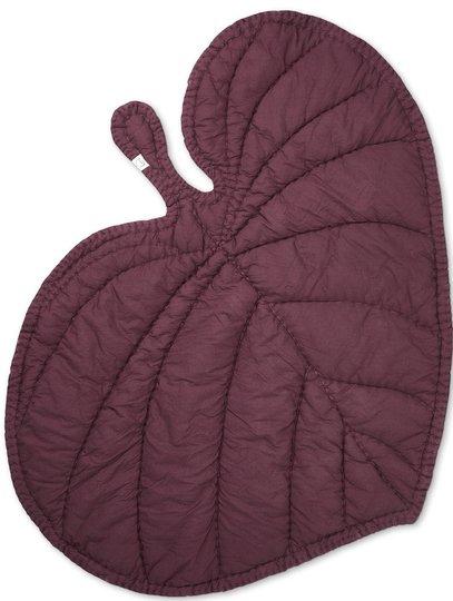 Nofred Leaf Teppe, Burgundy