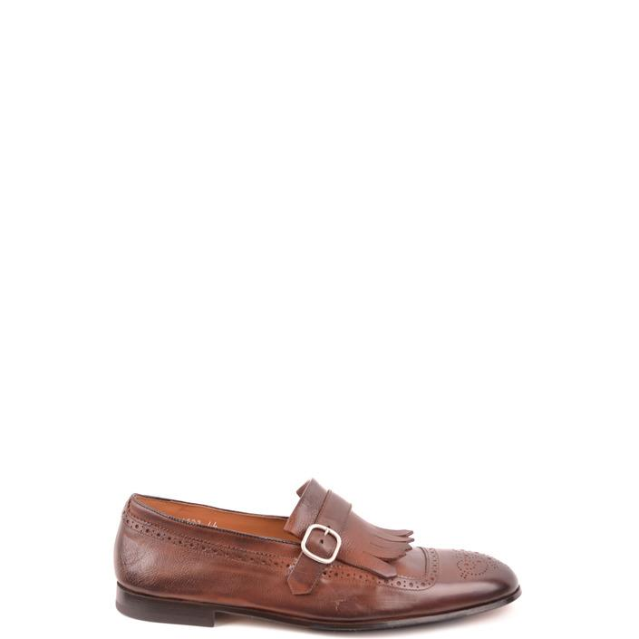 Doucal`s Men's Loafers Brown 169226 - brown 40.5