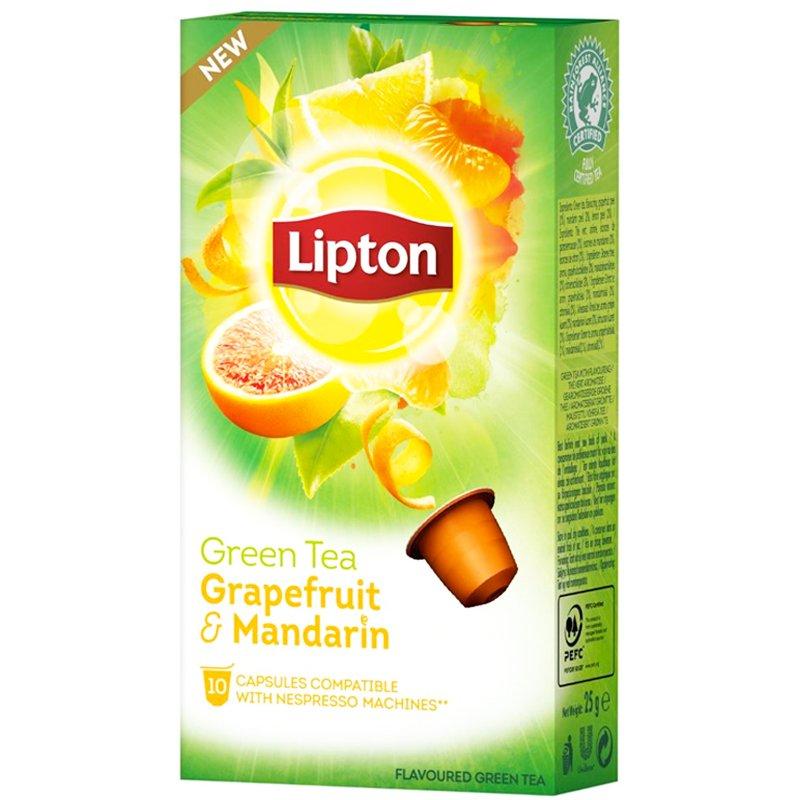 "Teekapselit ""Grapefruit & Mandarin"" 10 kpl - 72% alennus"