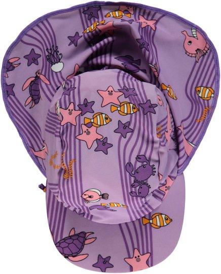 Småfolk Havet UV50+ Solhatt, Viola XS