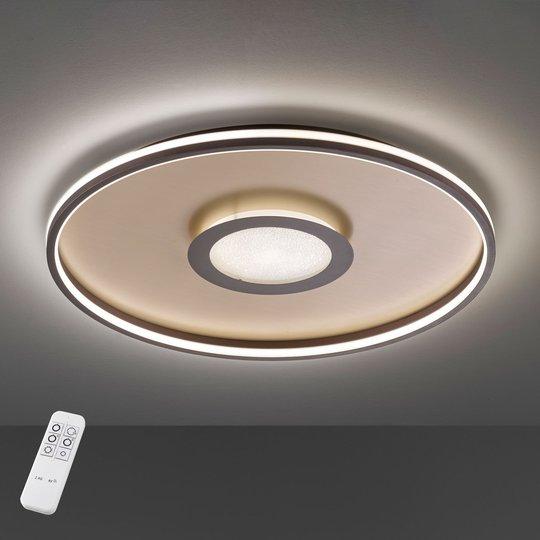 Bug-LED-kattovalaisin, pyöreä, ruoste, 81 cm