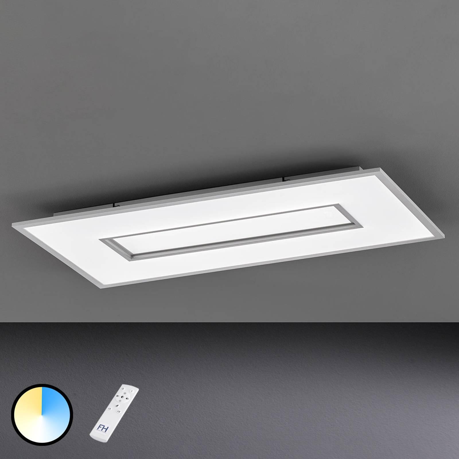 LED-kattovalaisin Tiara suorakulmainen 96 x 50 cm