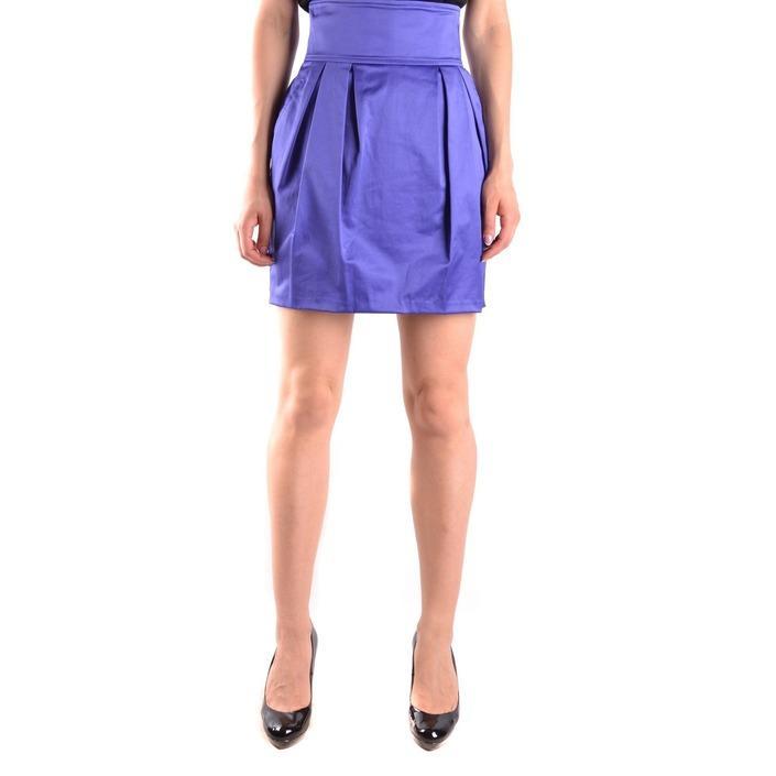 Elisabetta Franchi Women's Skirt Purple 161222 - purple 42