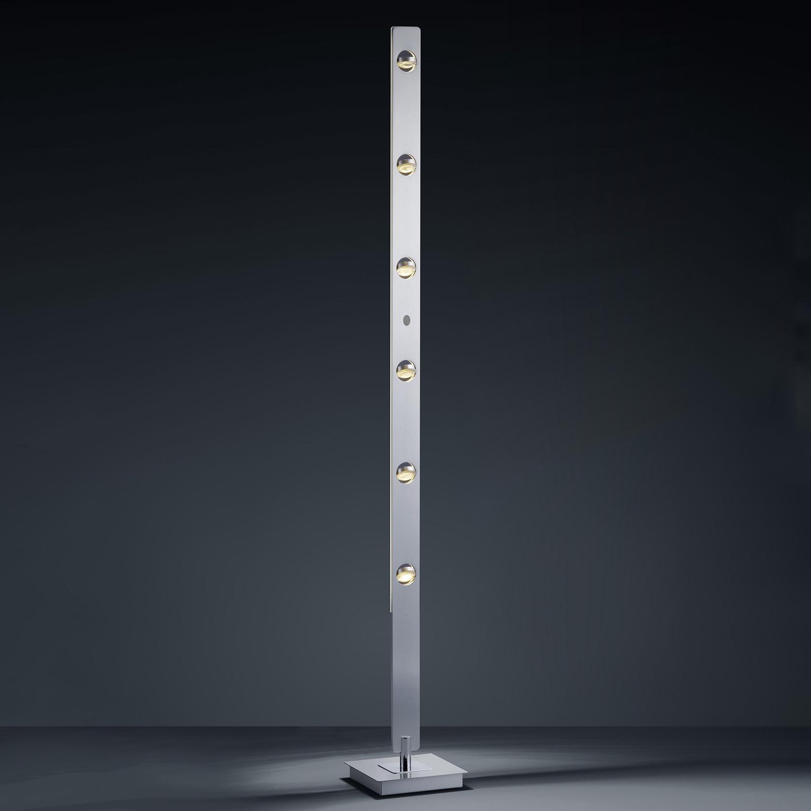 BANKAMP Caro LED-lattiavalo eletunnistin alumiini